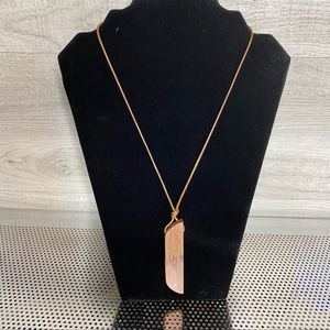 Pink Crystal Necklace with Adjustable Rope String